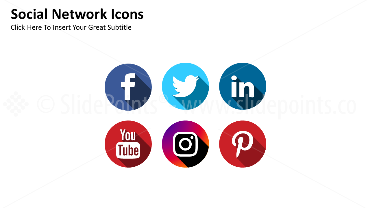 Conceptual Vector Icons PowerPoint